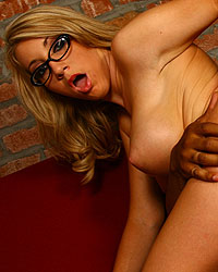 Massive Cream In My Pie Annette Schwarz Blacks On Blondes