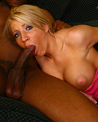 Double Creampie! Interracial Picture