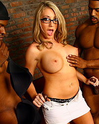 Massive Cream In My Pie Blacks On Blondes Movie